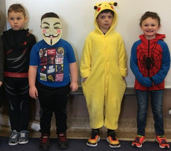 ...and more favourite book characters came to school on Thursday!