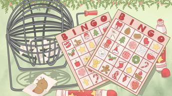 Winter Break Bingo Board