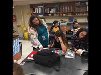 PHET simulation virtual lab on Nearpod with Ms. Bromley