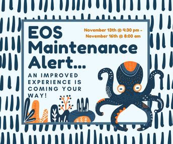 Enrichment Ordering System Scheduled Maintenance