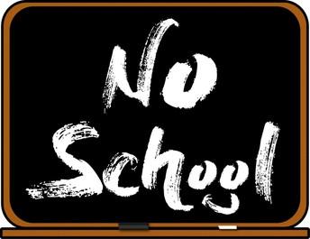 No School on Wed., 10/9
