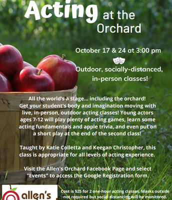 Acting at the Orchard