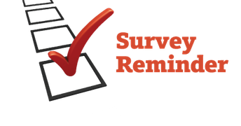 Family Income Surveys-ACTION REQUIRED