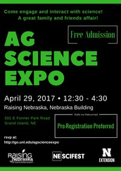Ag Science Expo – A Free Family Event at Raising Nebraska, located in Grand Island, NE