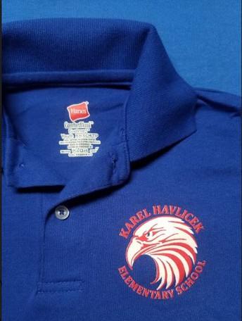 Havlicek PTO  Polo Shirt Order Form / Formulario de pedido de la playera tipo polo Havlicek PTO