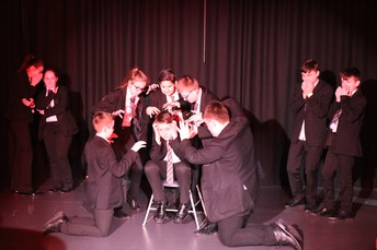 Year 9 Drama Students