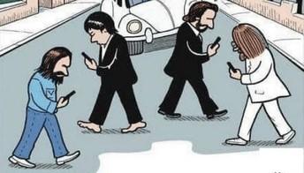 ...if the Beatles had smartphones