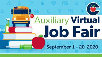 CISD Auxiliary Virtual Job Fair