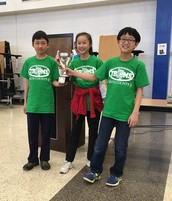 Math Tournament Winners!