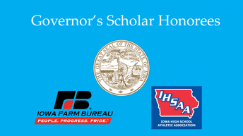 Janni, Ding Named to 2020 Iowa Governor's Scholar Program