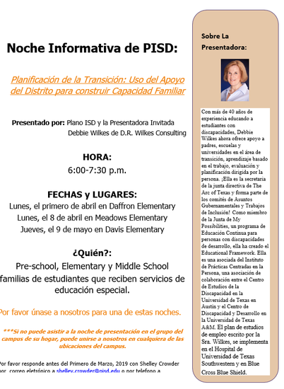 Murphy Middle School PTA - Plano ISD, TX - MMS PTA