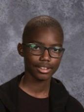 Dontrell Lawson - 7th Grade