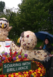 BSD sub honored on Alaska Airlines Grand Floral Parade float