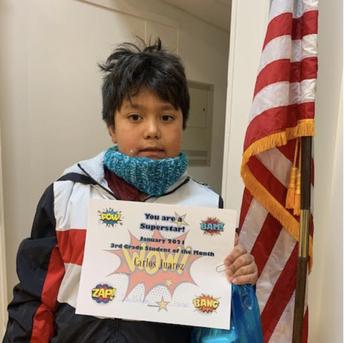 3rd Grade  Carlos Juarez