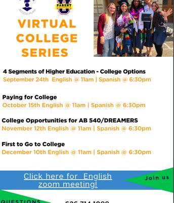 CAP Virtual College Series