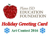 Plano ISD Holiday Greeting Card Art Contest