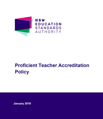 NESA: Proficent Teacher Accreditation Policy