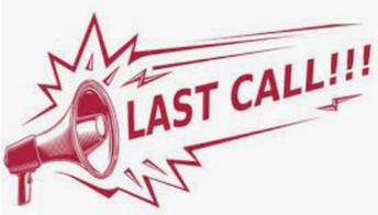 Last Call For Yearbook Pictures (Última llamada para fotos para el anuario)