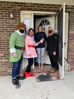 Operation Christmas Connection-Remote Student/Family Home Visits