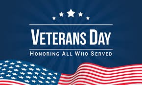 Veterans Day Reminders