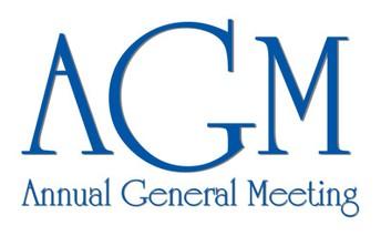 Annual General Meeting - tomorrow