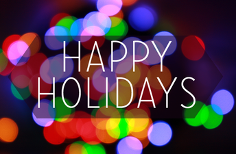Have a safe Winter Break! No school December 22- January 7