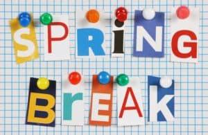 Spring Break Travel Advisory