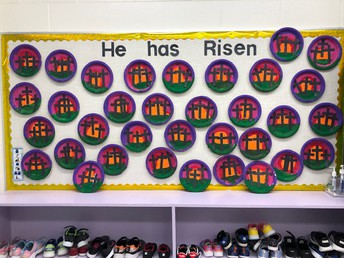 Kindergarten Easter Art!