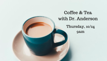 Principal Coffee & Tea Scheduled for THIS Thursday, 10/24