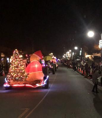 Tractor Parade fun!