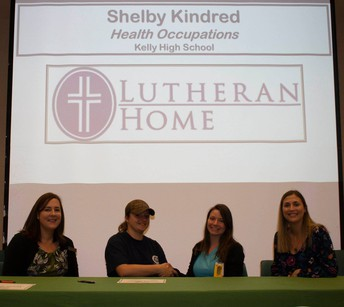 Shelby Kindred, Health Occupations