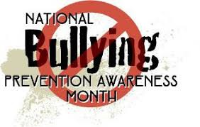 October was Bully Prevention Awareness Month