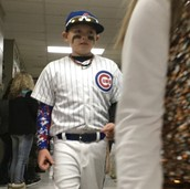 "Brody ""Baez"" in the house!"