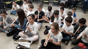 שיעור מוזיקה פתוח להורים