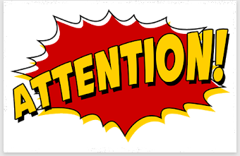 ATTENTION!!! Retention Information
