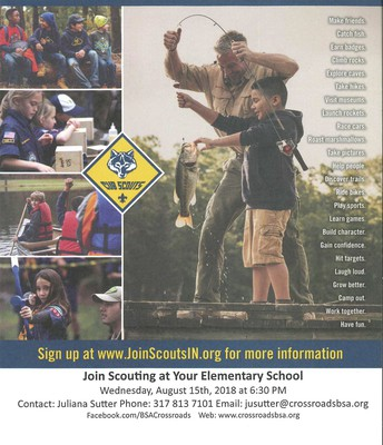 Not too late to join Cub Scouts!