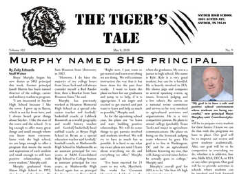 May Issue of the Tiger's Tale