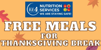 Weld RE-4...Free Meals Thanksgiving Week