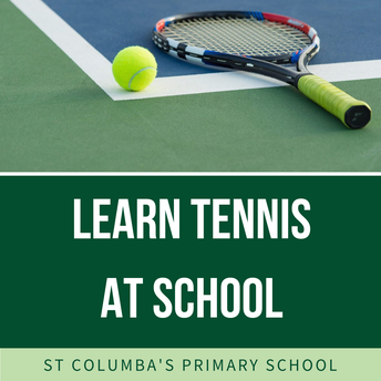 Marshall's Tennis Academy at school in Term 1