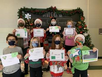 Fifth Grade Award Winners