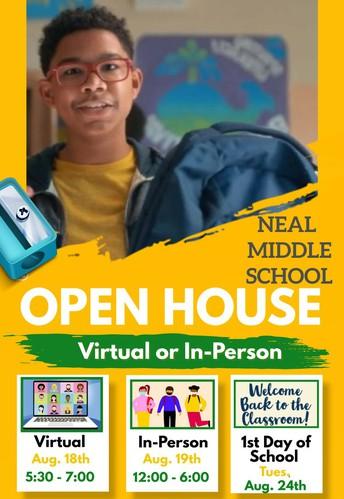 🎒🏫 Open House 🎒🏫