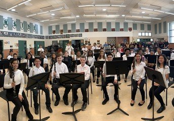 Congratulations Middle School Music Students!