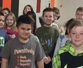 Apaws to Mrs. Paulus' Class!