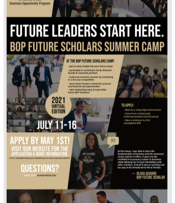 Purdue - Future Leaders - Summer Camp - July 11 - 16