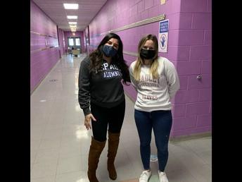 Ms. Castillo (DePaul) and Ms. Kraskinski (Bradley)