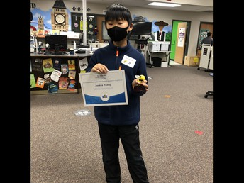 Joshua Zhang ~ School Spelling Bee Winner