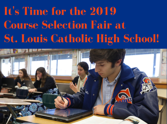 HALO HIGHLIGHT - Course Selection Fair is Feb. 27