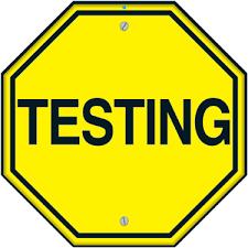 Interim Testing this week....