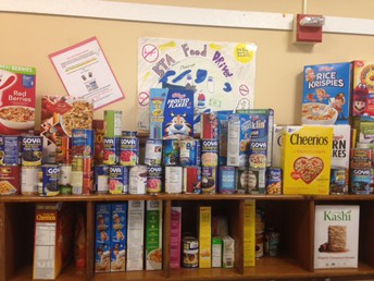 BTA Food Drive - Thank you!