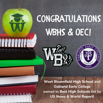 WBHS and OEC named to Best High Schools list!